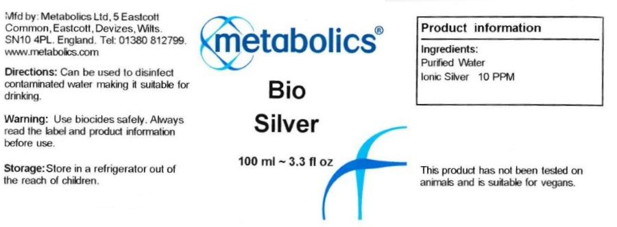 bio silver 100ml ingredients