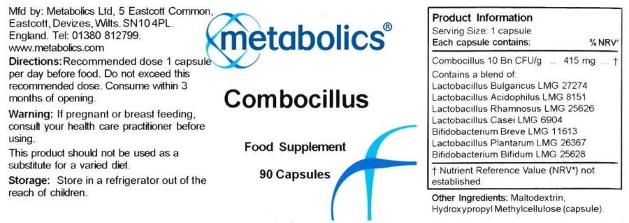 combocillus capsules ingredients