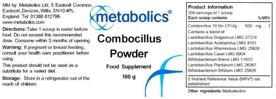combocillus powder 100g ingredients
