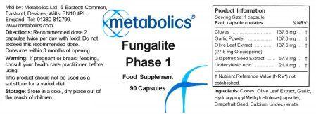 fungalite phase 1 capsules