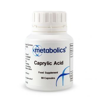 Caprylic Acid (Pot of 90 capsules)