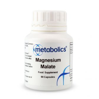 Magnesium Malate (Pot of 90 capsules)