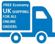 FREE shipping on all orders over £25. (UK Delivery Only)