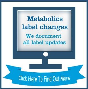 metabolics label changes